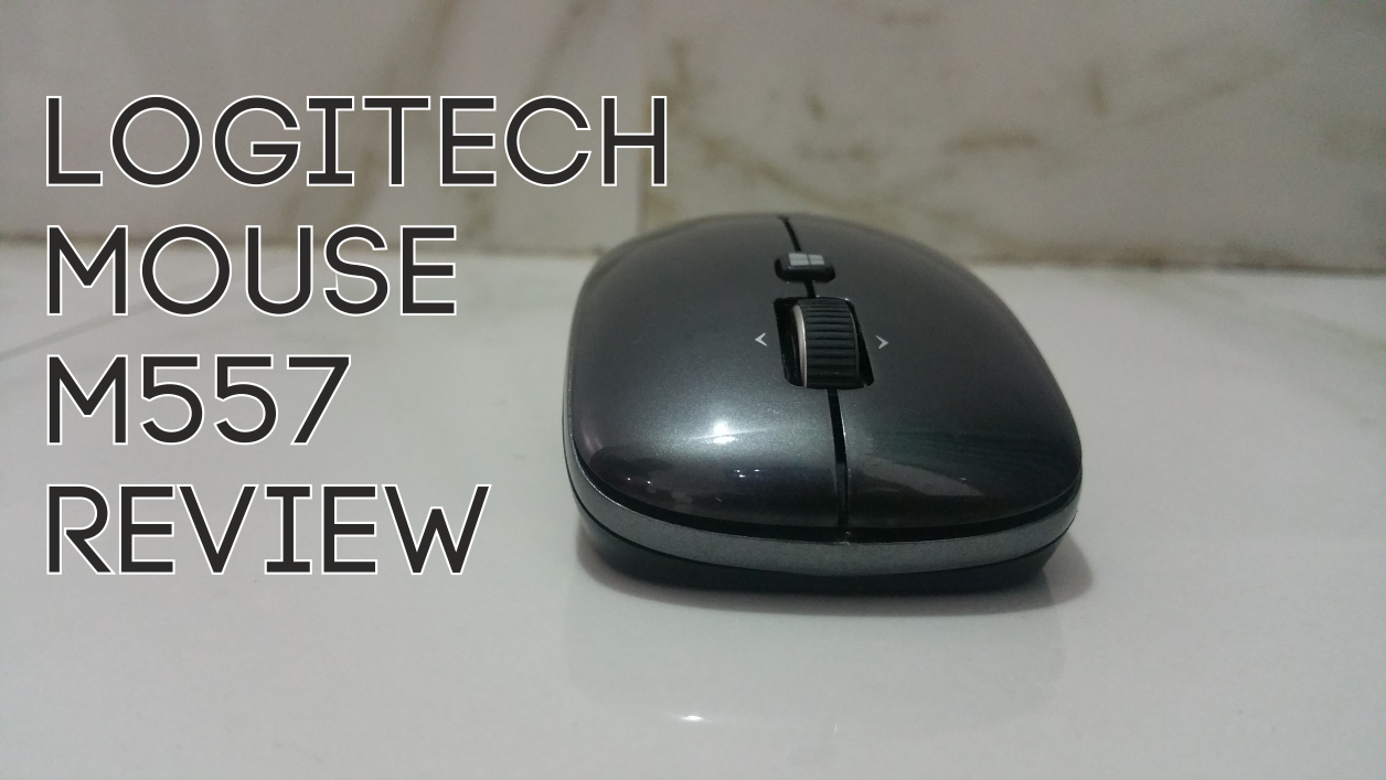 logitech mouse m557 review