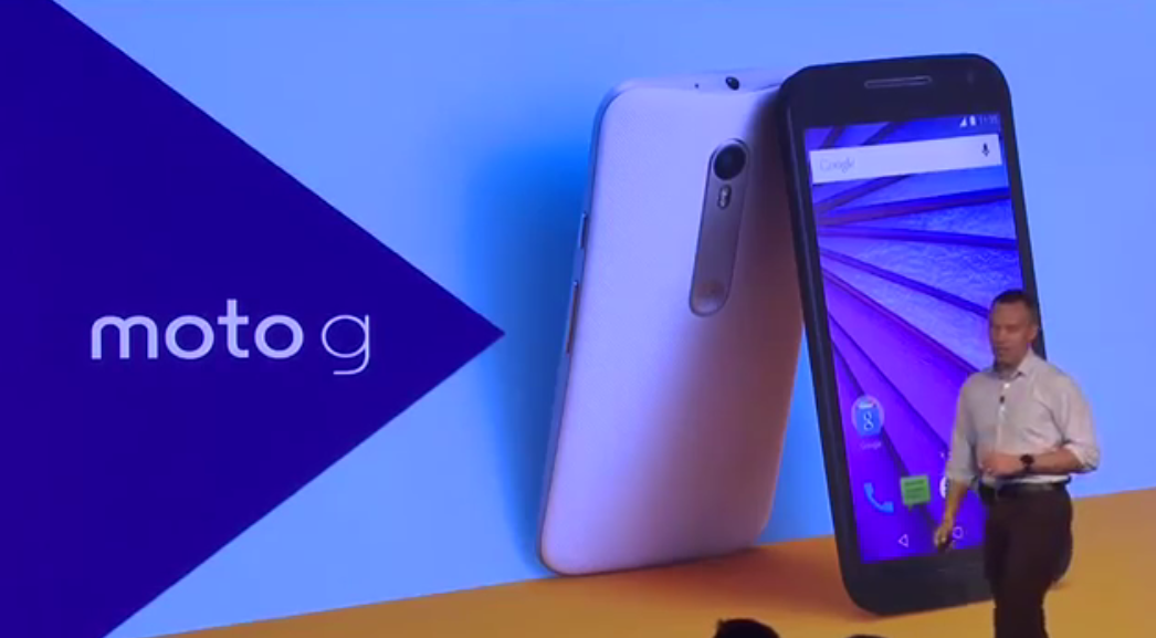 moto g3 launched