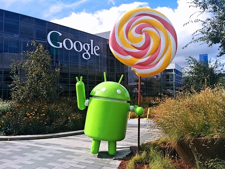 Google's Android Lollipop