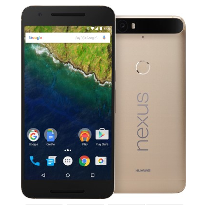 Huawei Nexus 6P Gold Edition