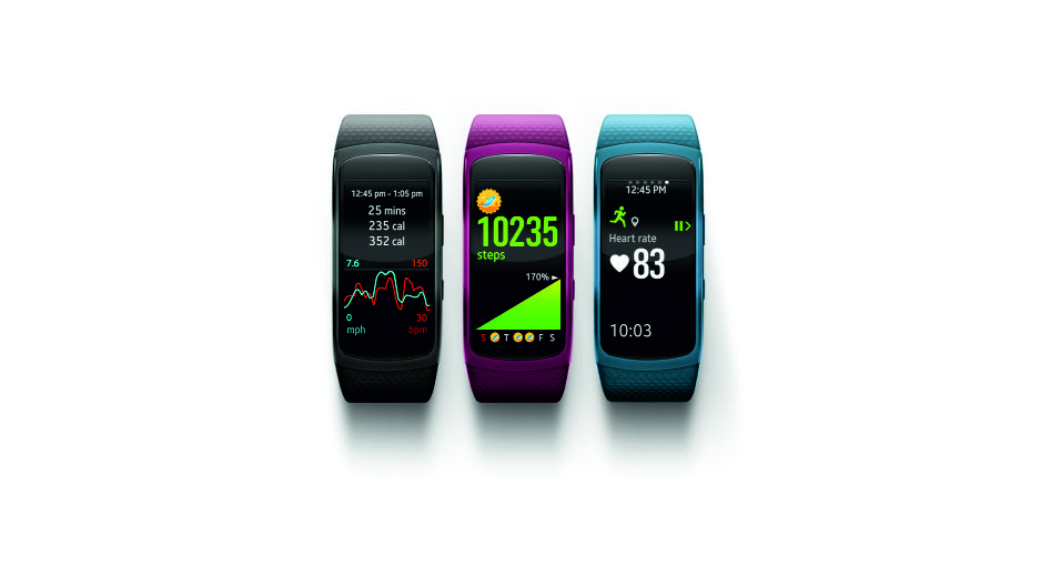 Samsung Gear Fit2 Announced