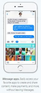 iOS 10 imessage app