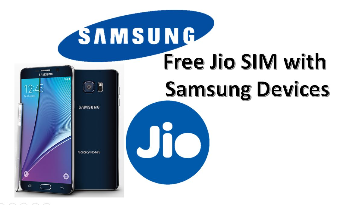 samsung and jio sim offer