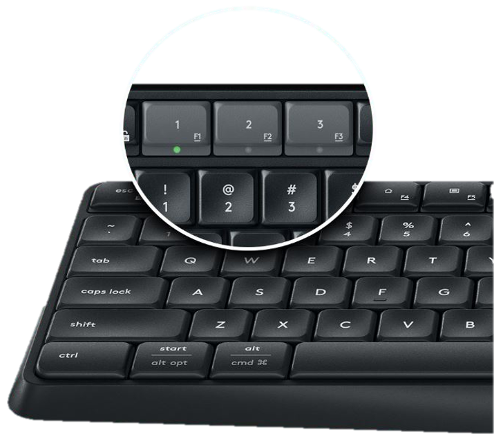 Logitech K375s Keyboard enlarge