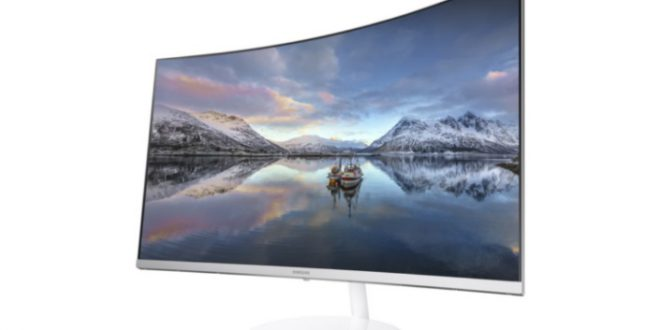 Samsung Quantum Dot Curved Monitor CH711