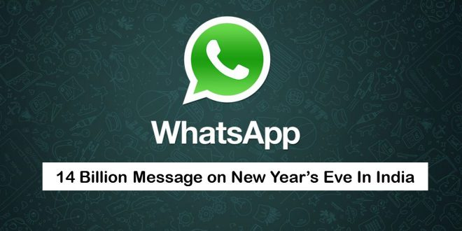 WhatsApp 14 Billion Messgaes