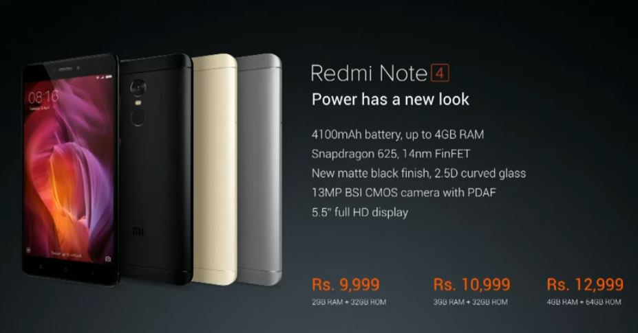 redmi note 4 _3
