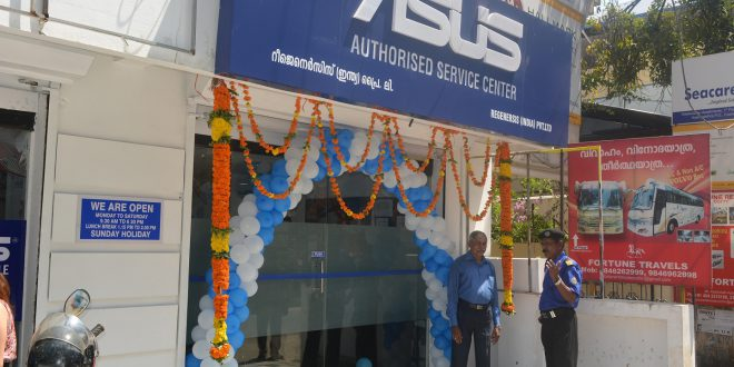 Asus India Inaugurates its Exclusive Service Center in Kochi.