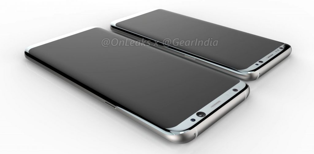 Galaxy S8 and Galaxy S8 Plus Onleaks