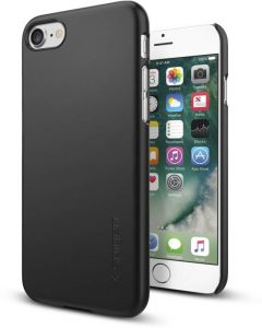 Spigen Back Cover for Apple iPhone 7 (Black)