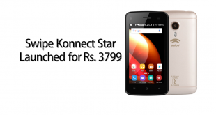Swipe Konnect Star launched for Rs. 3799