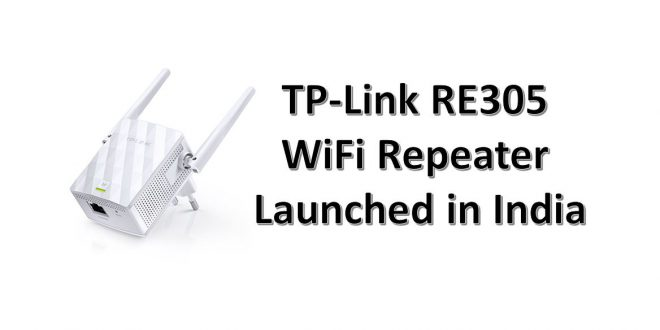 TP-Link RE305 launched