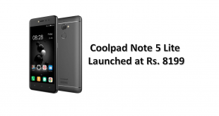Coolpad Note 5 Lite Launched