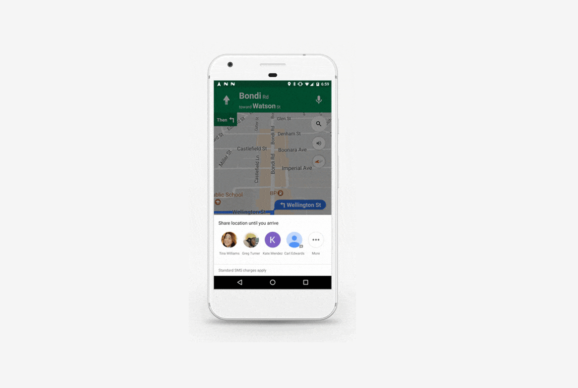 Google Maps Real-Time Updates