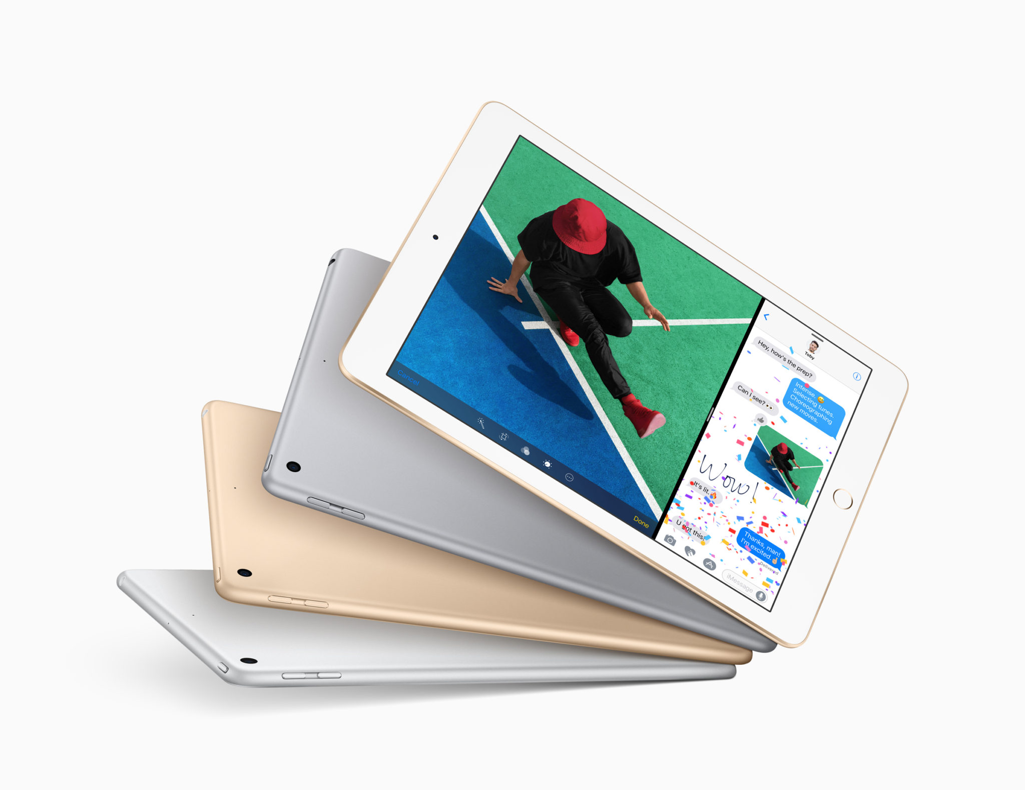 New 9.7-inch iPad (2017) colors