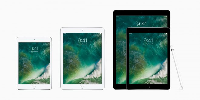 New 9.7-inch iPad (2017) sizes