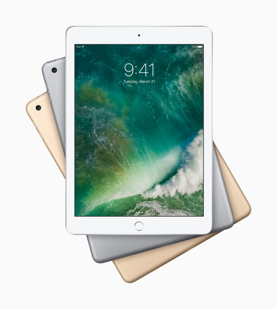 New 9.7-inch iPad (2017) touch ID