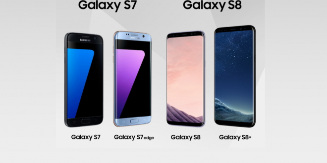 Samsung Galaxy S7 VS Galaxy S8 Comparison