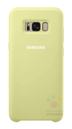 Samsung Galaxy S8 silicon lemon