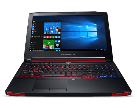 Acer Predator 15 front View