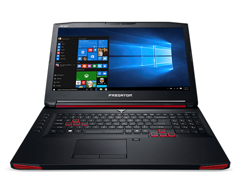 Acer Predator 17 front View