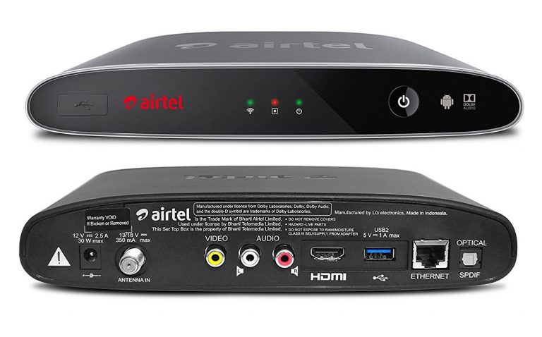 Airtel Internet TV Box