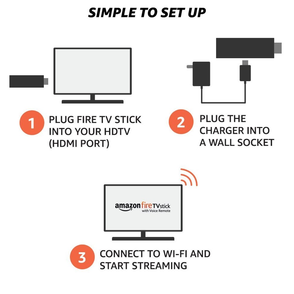Amazon Fire TV Stick Setup