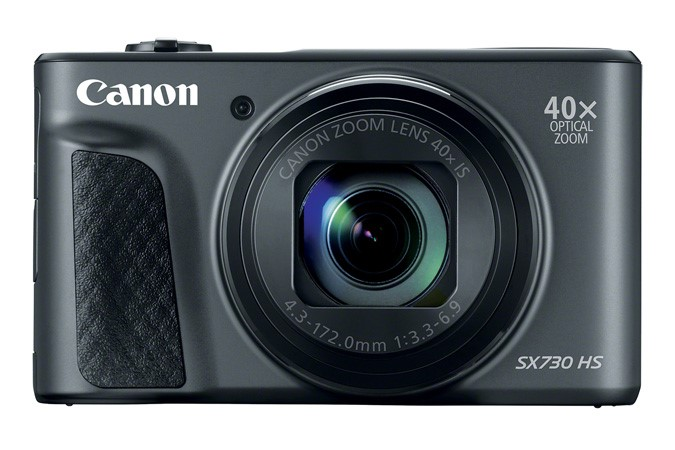 Canon PowerShot SX730 HS Camera Front View.png