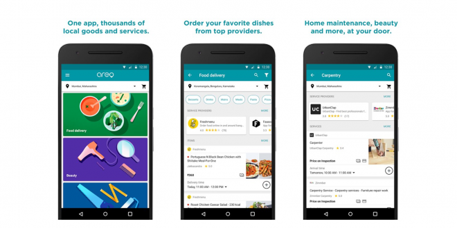 Google Areo - Food Delivery App
