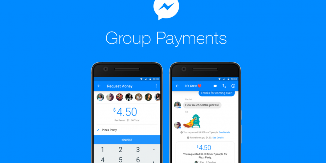 Group Payments in Facebook Messenger