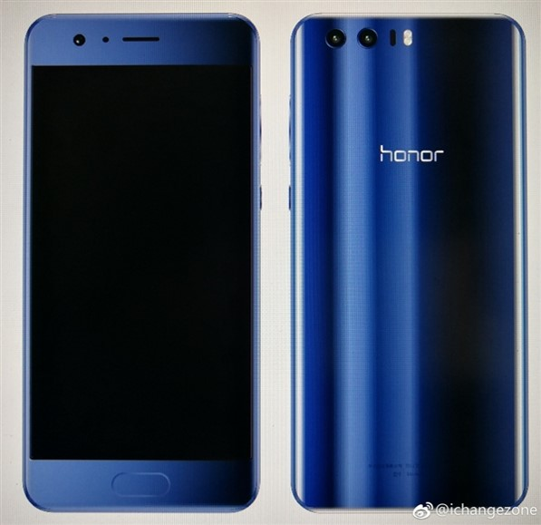Honor 9 Renders Photographs surfaced online