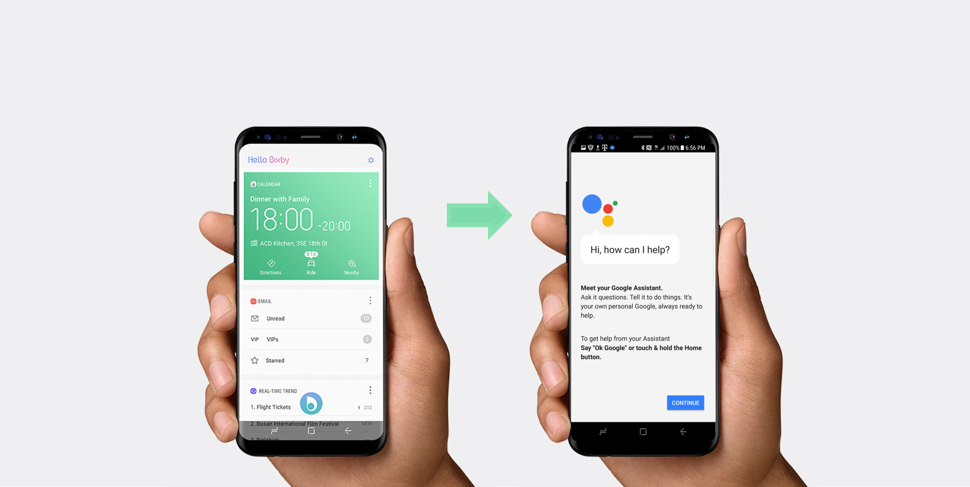 Launch Any App on Galaxy S8's Dedicated Bixby Button