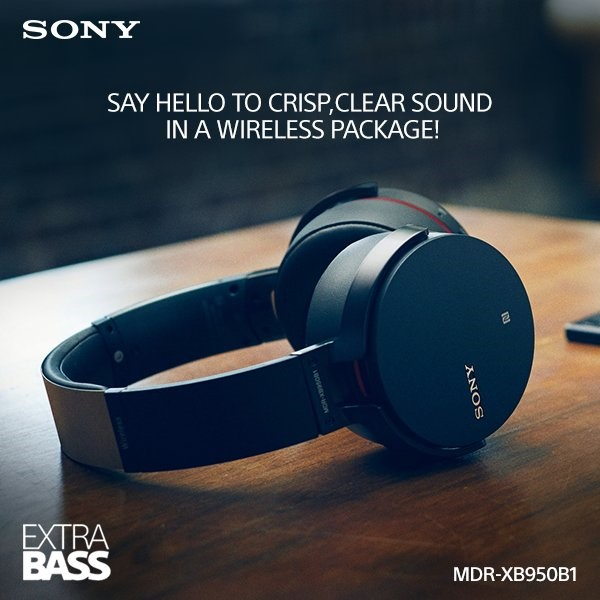 Sony New Extra Bass XB950B1 headphones