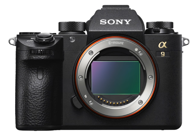Sony a9 Camera Front View