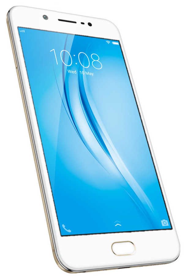 Vivo V5s White Front-View