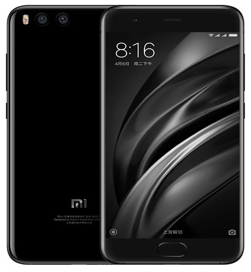Xiaomi Mi 6 Black Color