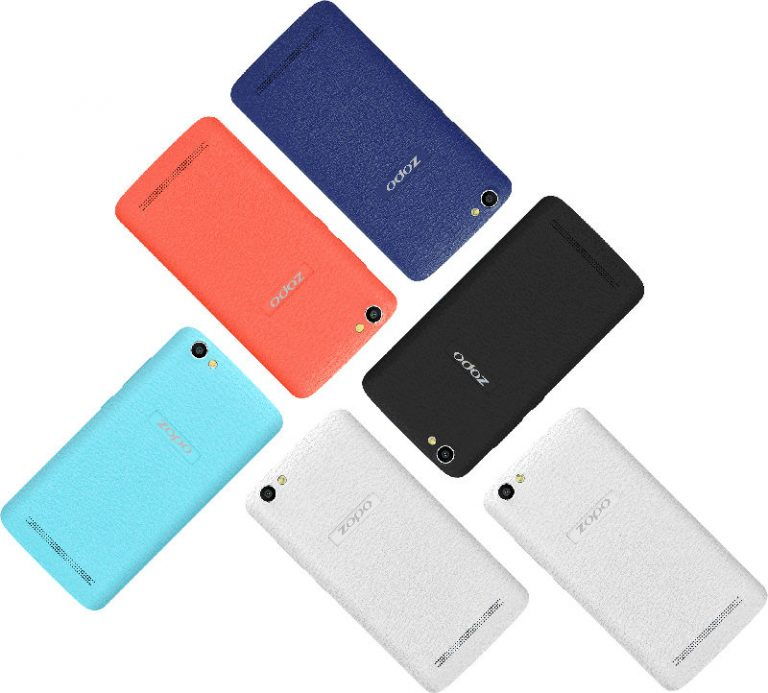 ZOPO Color M4 Colors