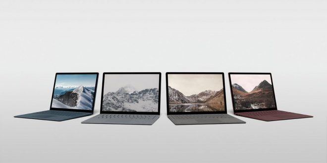 Microsoft Surface Laptop with Windows 10 S Announced, Starting at $999